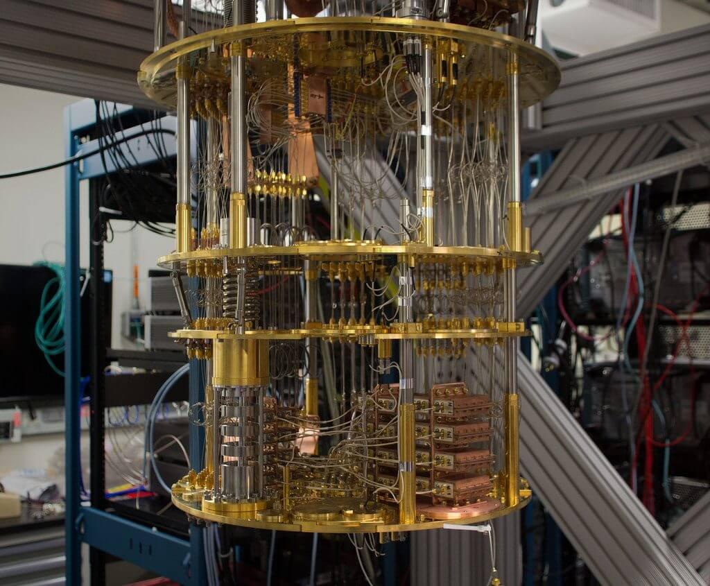 A Quantum Computer - Source: IBM Research